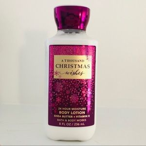 BBW a thousand christmas wishes body lotion